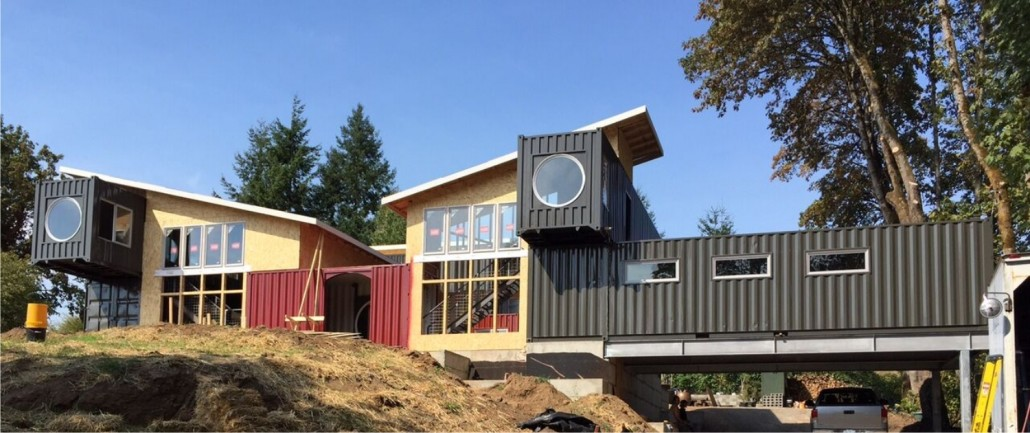Design and Build with Shipping Containers
