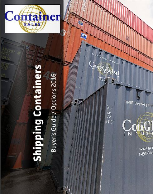 CGI Container Sales Buyer's Guide