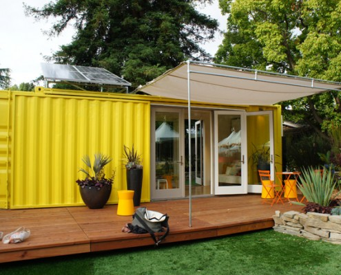 Seattle Container Home with Steel Containers