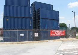 CGI Container Sales Street View in Atlanta, Georgia