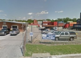 CGI Container Sales in Memphis Tennessee Street View