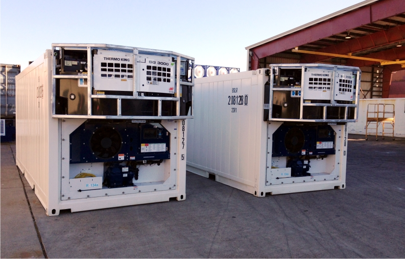 Shipping and storage container modifications conglobal Fridge motors for sale