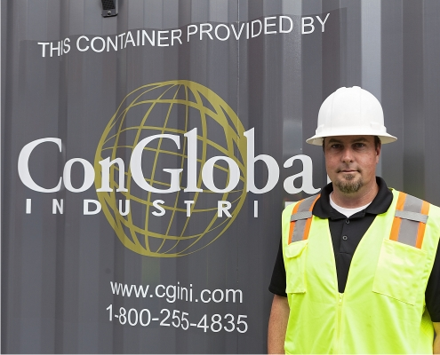 ConGlobal Industries Container in Portland