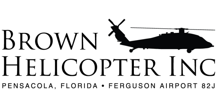 Brown Helicopter Logo