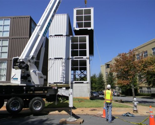 Delivery of Containers for Atlanta Home