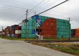 CGI Container Sales Shipping Container Yard in Houston Texas