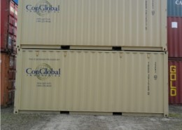 Norfolk Virginia Shipping Containers with ConGlobal Logo