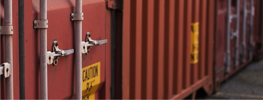 Shipping Container Closeup