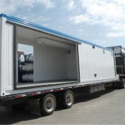 Delivery of a Shipping Container