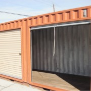Shipping Container Garage or Shed