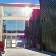Shipping Container with Windows