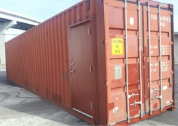 Used Shipping Container with Door